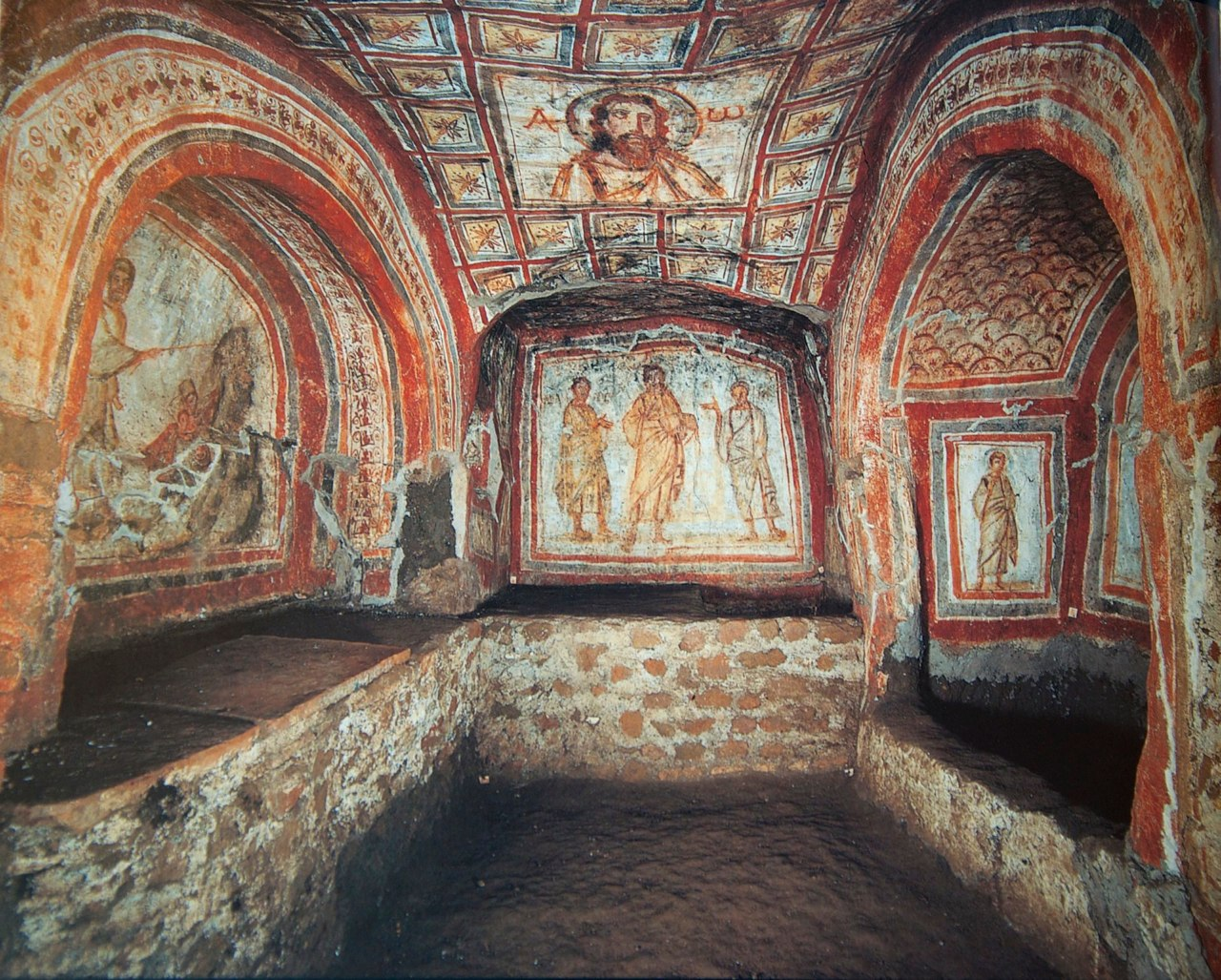 a look at the catacombs and the christian persecutions Why does christianity have a persecution complex update cancel but when you look at all carefully including that the early christians hid in the catacombs.