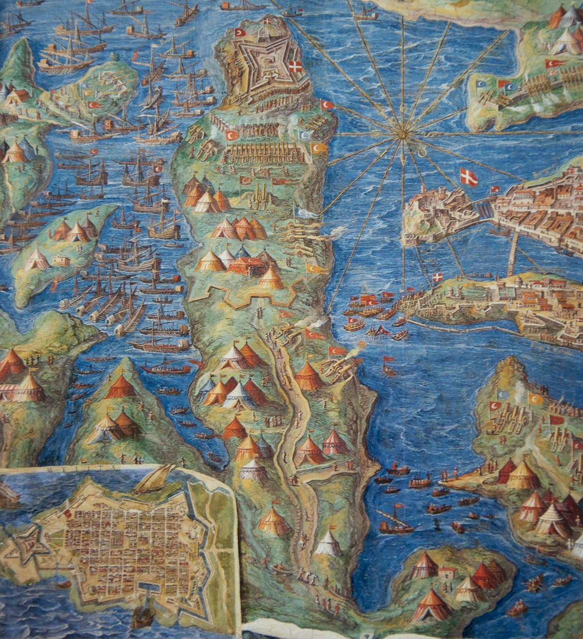 Romapedia vatican museums gallery of the geographical maps island of malta with highly detailed representation of the gumiabroncs Choice Image