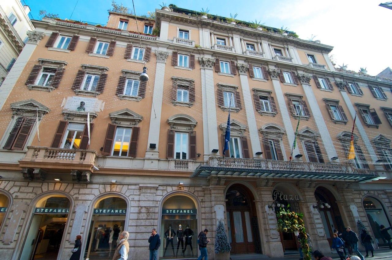 Romapedia  Hotel Plaza