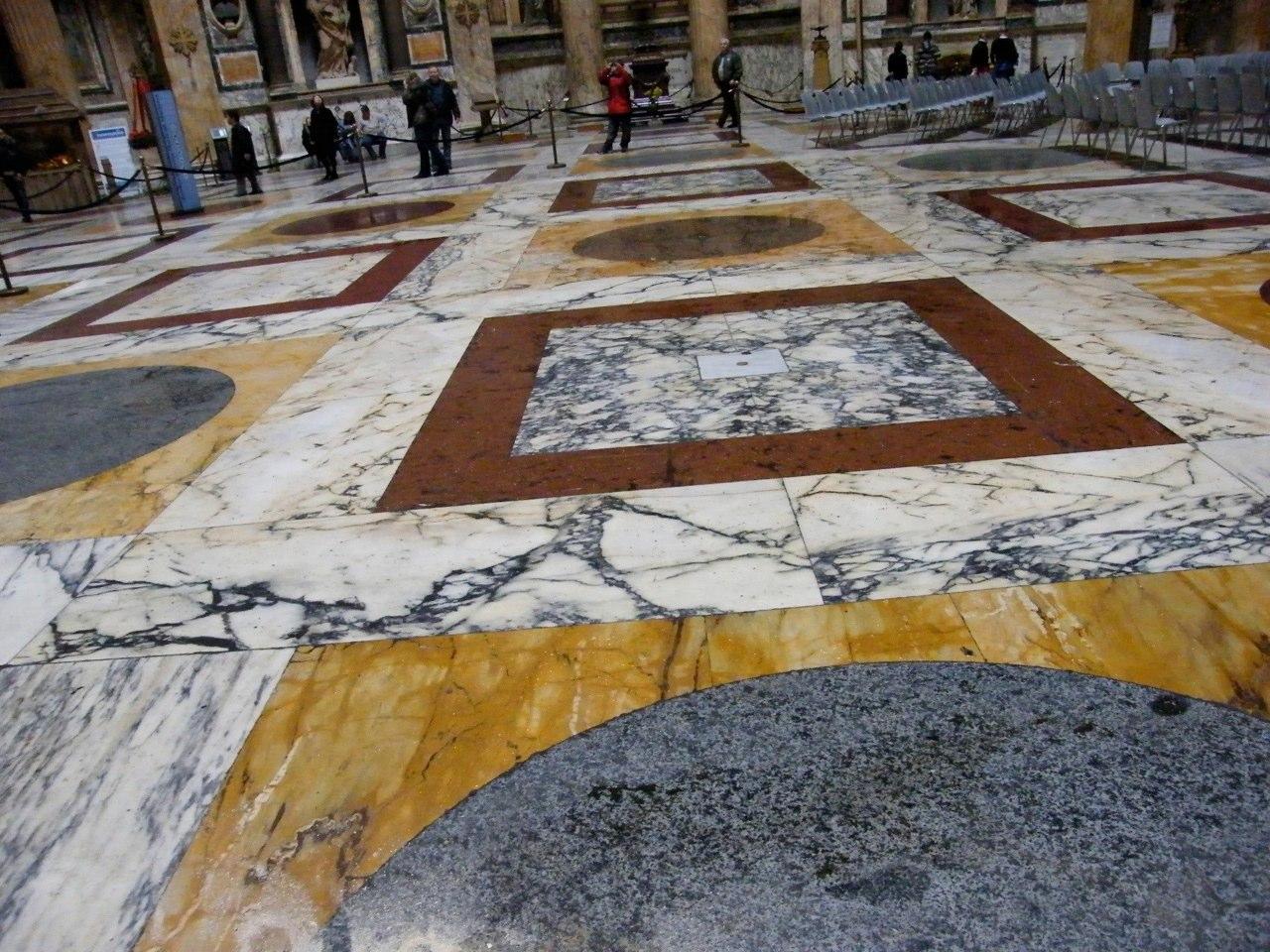David macchi 39 s blog il pantheon a roma for Disegni unici del pavimento