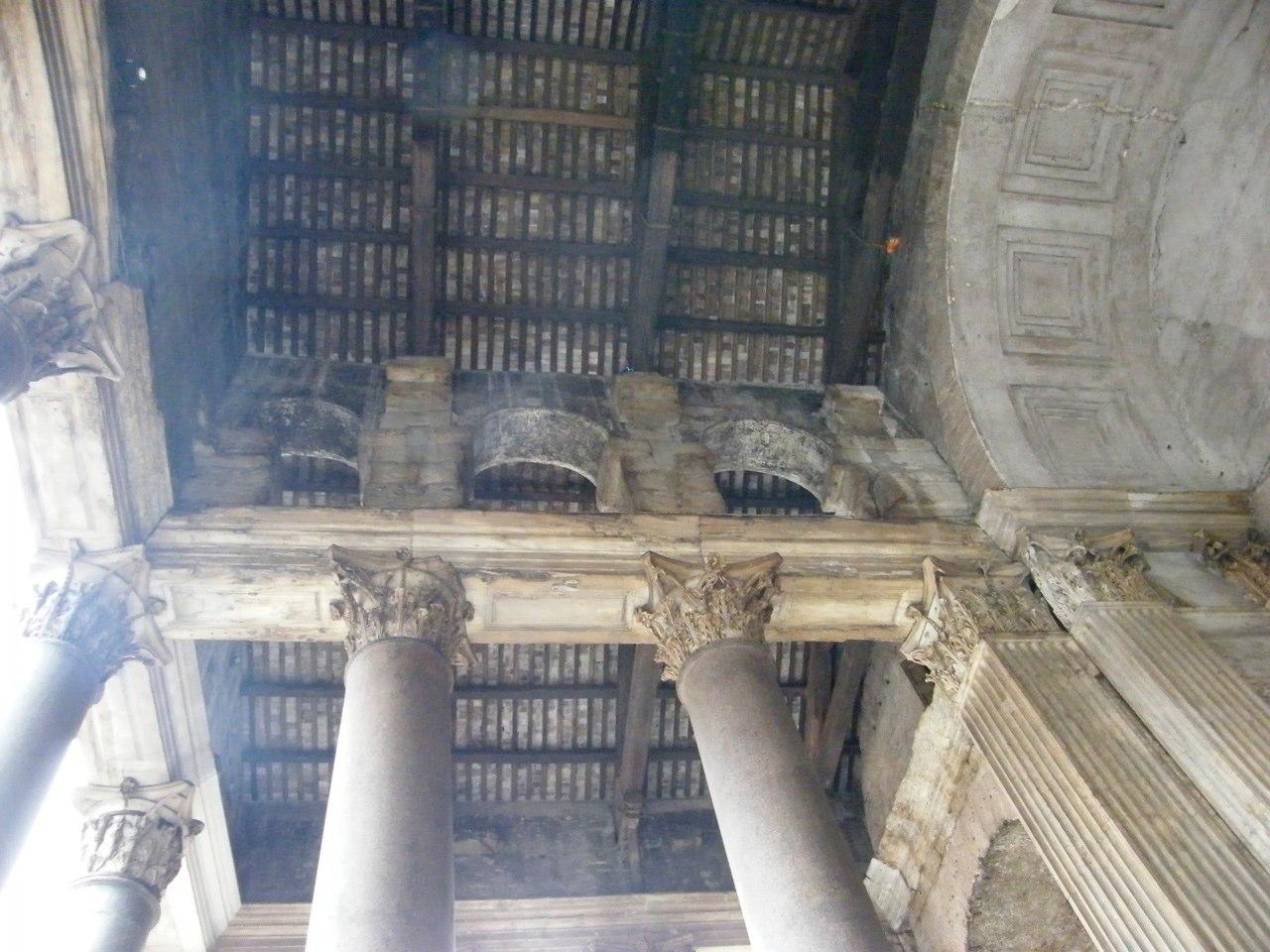 David macchi 39 s blog il pantheon a roma for Come aggiornare le colonne del portico anteriore